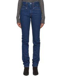Isabel Marant Blue Nominic Jeans