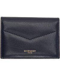 Givenchy Porte-cartes bleu marine Edge Business