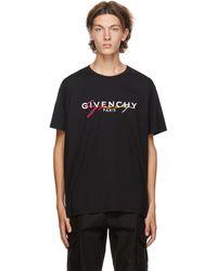Givenchy - ブラック Degrade シグネチャ T シャツ - Lyst