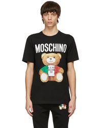 Moschino - ブラック Italian Teddy Bear シャツ - Lyst