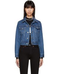 RE/DONE - Blue Originals Classic Denim Trucker Jacket - Lyst