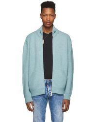 DSquared² ブルー アルパカ セーター