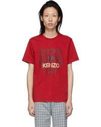 KENZO - レッド タイガー T シャツ - Lyst