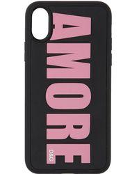 Dolce & Gabbana ブラック Amore Iphone X Case