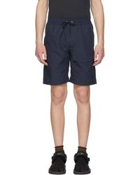 Nanamica - Navy Easy Shorts - Lyst