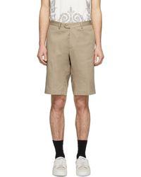 Etro Beige Bermuda Shorts - Natural