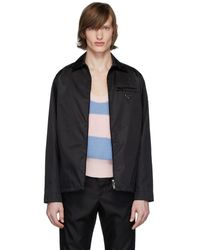 Prada Black Gabardine Jacket
