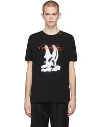 Off-White c/o Virgil Abloh Cartoon T-shirt - Black