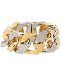 Givenchy Gold & Silver G Chain Bracelet - Metallic