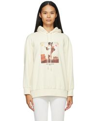 Stella McCartney Pull a capuche blanc casse Year Of The Ox