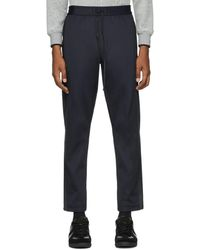 3.1 Phillip Lim Navy Track Sweatpants - Blue