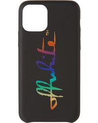 Off-White c/o Virgil Abloh - ブラック & マルチカラー Iphone 11 Pro Max ケース - Lyst