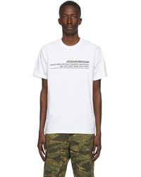 Neighborhood White Archive No. 0201 Logic T-shirt
