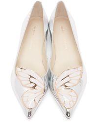 Sophia Webster Butterfly Flats - Metallic
