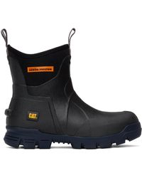 Heron Preston Black Caterpillar Edition Cat Stormers Boots