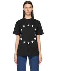 Etudes Studio Black Wonder Europa T-shirt