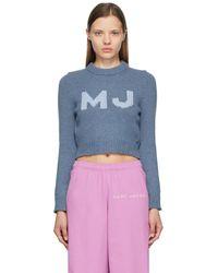 Marc Jacobs ブルー The Shrunken セーター