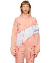 Martine Rose Ssense Exclusive Pink Twist Track Jacket