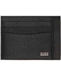 BOSS by HUGO BOSS ブラック シグネチャ カード ケース
