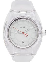 095e92d6b25 Lyst - Gucci Pink And Green G-sync Watch in Pink for Men