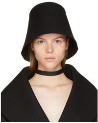 Jacquemus - Black 'le Chapeau Avignon' Hat - Lyst