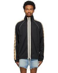 Gucci Black Technical Jersey Oversized Jumper
