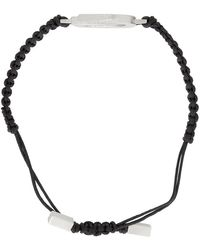 Givenchy シルバー G Link コード ブレスレット - マルチカラー