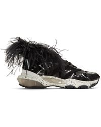Valentino - Vltn Grid Bounce Sneakers - Lyst