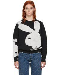 Marc Jacobs - Black Playboy Bunny Sweatshirt - Lyst