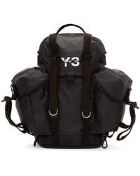 Y-3 ブラック Xs ユーティリティ バックパック