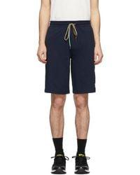 Paul Smith Jersey Shorts - Blue