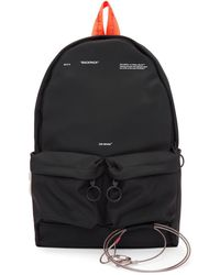Off-White c/o Virgil Abloh - Black Tape And Wire Backpack - Lyst