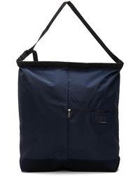 Nanamica Navy Utility Messenger Bag - Blue