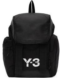 Y-3 - Black Mobility Backpack - Lyst