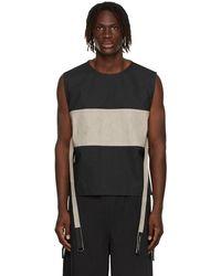 Craig Green Craig Cargo Vest - Black
