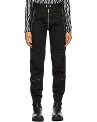 GmbH Exposed Zip Yolanda Cargo Pants - Black