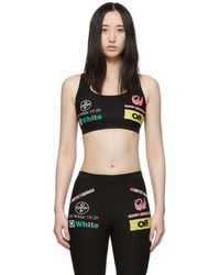 Off-White c/o Virgil Abloh Ssense Exclusive Black Multilogo Sporty Leggings