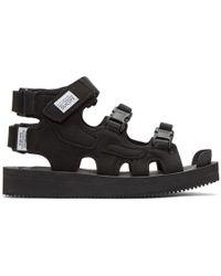 Suicoke - Black Boak-v Sandals - Lyst