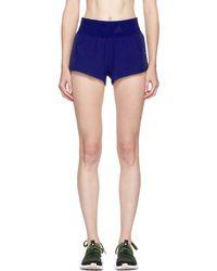 adidas By Stella McCartney - Blue Climacool Training Shorts - Lyst