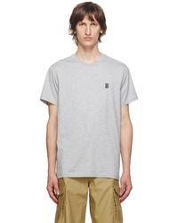 Burberry - パーカー モノグラム コットンtシャツ - Lyst