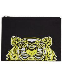 515de657 Black Limited Edition High Summer Tiger A4 Pouch