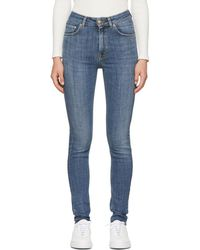 Won Hundred - Blue Marylin A Skinny Jeans - Lyst