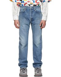 online store 76b83 13ad3 Blue Standard Fit Jeans