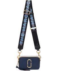 Marc Jacobs Snapshot ショルダーバッグ - ブルー