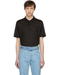 Brioni - T-shirt en soie noir - Lyst