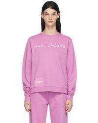 Marc Jacobs ピンク The Sweatshirt スウェットシャツ