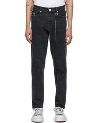 Mastermind Japan Black Water-repellant Jeans