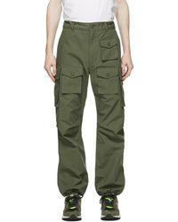 Engineered Garments - グリーン カーゴ パンツ - Lyst