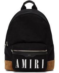 Amiri ブラック & タン Classic バックパック