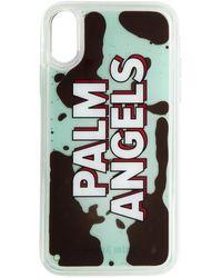 Palm Angels ブルー リキッド ロゴ Iphone Xr ケース - マルチカラー